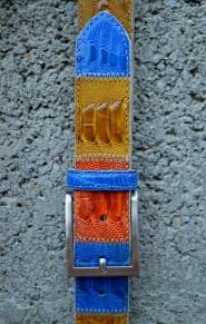cintura summer color pelle di struzzo Il Cascinetto
