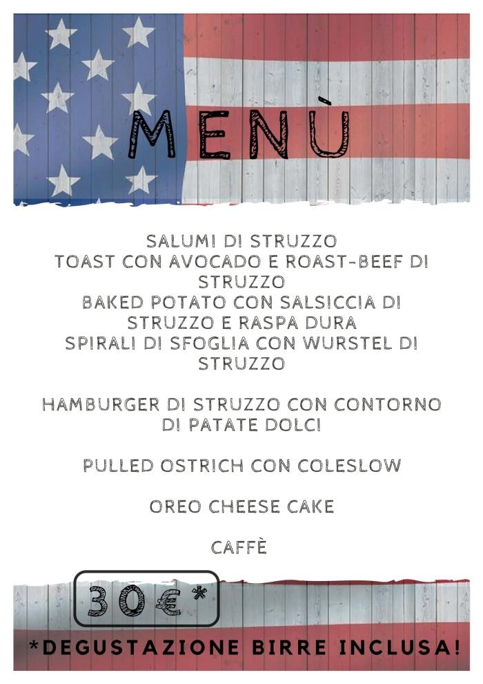 il cascinetto evento menu
