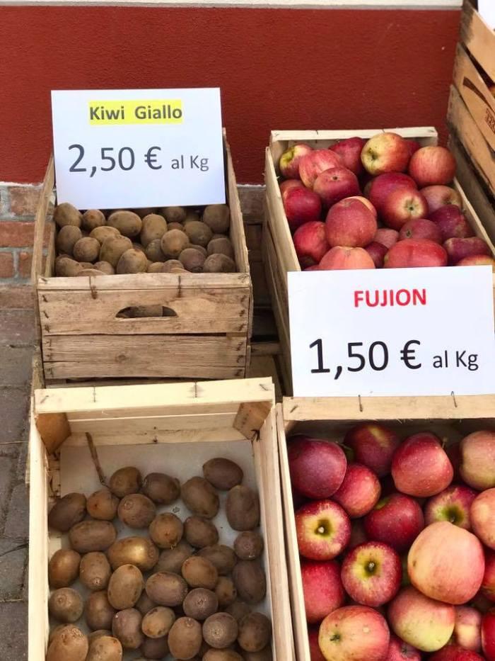 il cascinetto vendita frutta bio